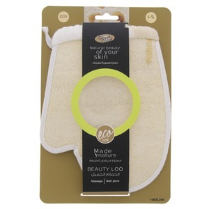 Home Mate Beauty Loo Bath Gloves 14BSL006  1pc