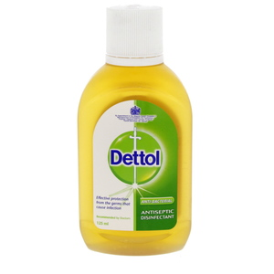 Dettol Anti-Bacterial Antiseptic Disinfectant 125ml