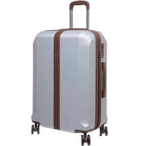 Delsey Promenade 4Wheel Hard Trolley 70cm Silver