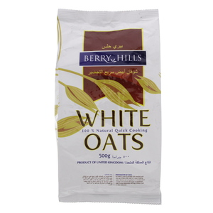 Berry Hills White Oats 500g