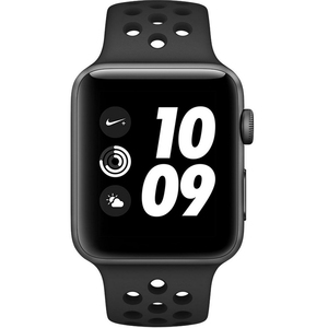 Apple Watch Series 3 Nike+ MQL42ZP/A 42mm Gray Aluminum Case with Nike Sport Band