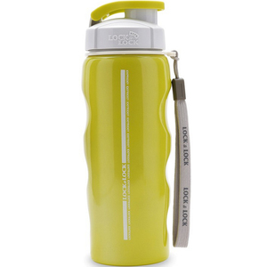 Lock&Lock Stainless Steel Bottle LHC211 550ml Green