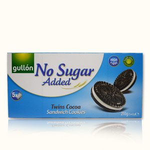 Gullon Twins Cocoa Sandwich Cookies 210g