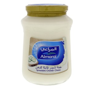 Al Marai Spreadable Cheddar Cheese 900g