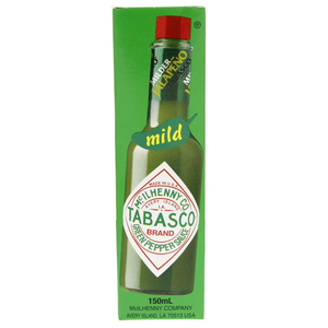Tabasco Mild Green Pepper Sauce 150ml