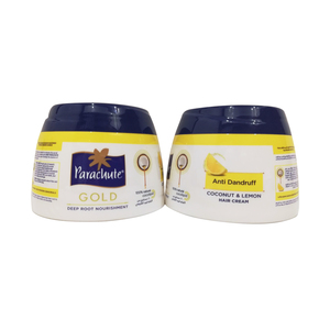 Parachute Gold Coconut & Lemon Hair Cream 2 x 140ml