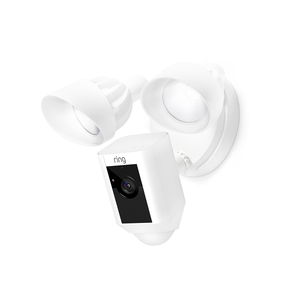 Ring Floodlight Cam , HD Security Camera with Built-in Floodlights, Two-Way Talk and Siren Alarm