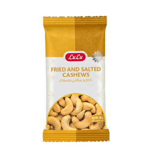 Lulu Fried & Salted Cashews 20g