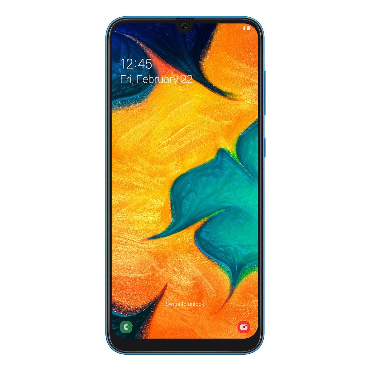 Buy Samsung Galaxy A30 SM-A305 64GB Blue - Smart Phones