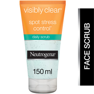Neutrogena Facial Scrub Visibly Clear Spot Stress Control 150ml