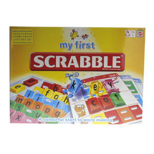 My First Scrabble Brand Crossword Games