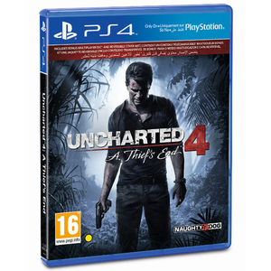 PS4 Uncharted 4 A Thief's End Standard Edition