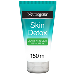 Neutrogena Facial Wash Skin Detox Clarifying Clay Wash Mask 150ml