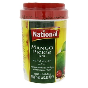 National Mango Pickle In Oil 1kg