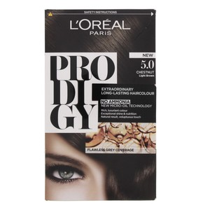 L'Oreal Prodigy Hair Color Chestnut 5.0 1 Packet