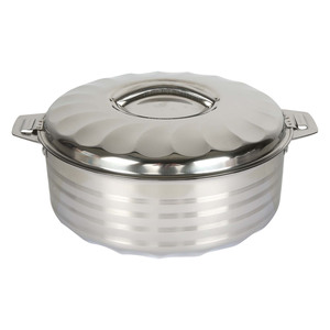 Chefline Stainless Steel Hot Pot Flora 3.5Ltr
