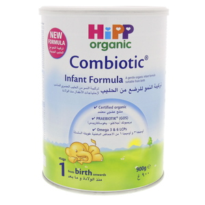 Hip Organic Combiotic Infant Formula Stage 1 900g