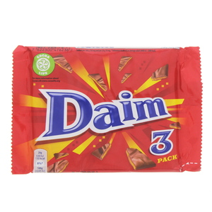 Daim 3 Pack Chocolate 84g