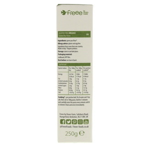 Doves Farm Freee Organic Green Pea Penne Pasta 250g