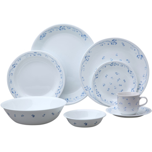 Corelle Dinner Set Provincial Blue 76pcs