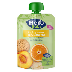 Hero Baby Mixed Fruits with Biscuits 100g