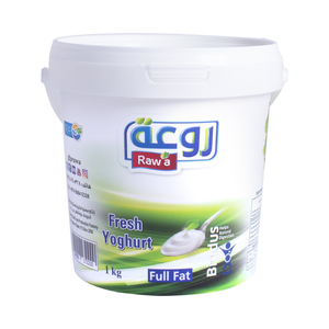 Raw'a Fresh Yoghurt Full Fat 1kg