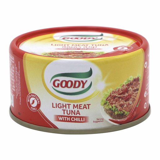 Goody Light Meat Tuna With Chilli 185g
