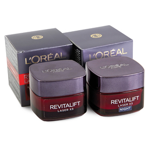 Loreal Revitalift Laser Day Cream 50ml + Night Cream 50ml