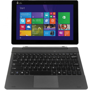 I-Life 2in1 ZED Book 10.1inch QC Grey