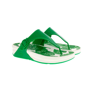 Fitflop Ladies Slipper Green