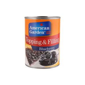American Garden Topping & Filling Blueberry 595 Gm