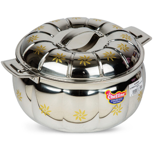 Chefline Stainless Steel Hot Pot Pumkin 3.5L