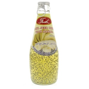 Lulu Basil Seed Drink With Banana Flavoured 290ml