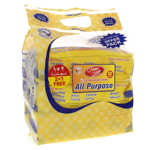 Home Mate All Purpose Wipes 3 x 80Pcs