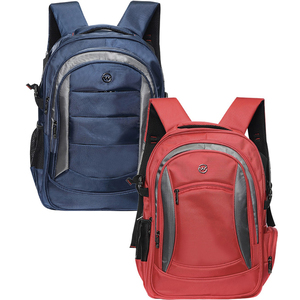"Wagon-R Multi-Backpack 7808 19"" Assorted 1Piece"