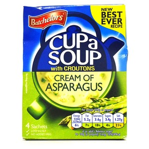 Batchelors Cup a Soup with Croutons Cream of Asparagus 117g
