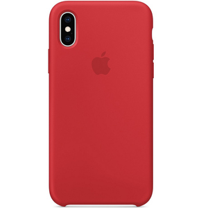 Apple iPhone XS Silicone Case (PRODUCT)RED