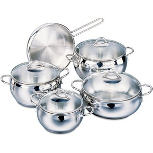 Korkmaz Tombik Cookware Set 9pc A1800