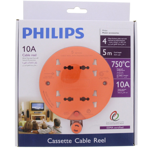 Philips Extension Reel 4Way 5Mtr