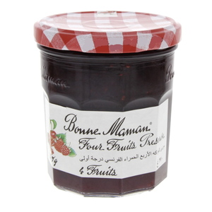 Bonne Maman Four Fruits Preserve 370g