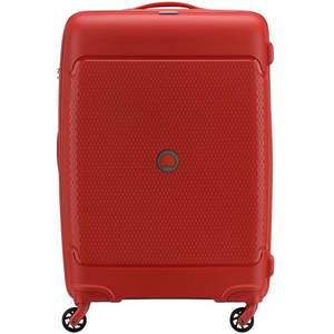 Delsey Sejour 4 Wheel Hard Trolley 55cm Red