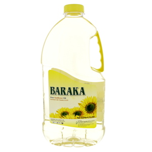 Baraka Sunflower Oil 3Litre