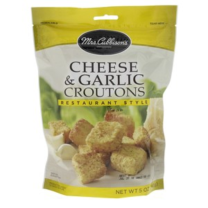 Mrs. Cubbison's Cheese And Garlic Croutons 142g