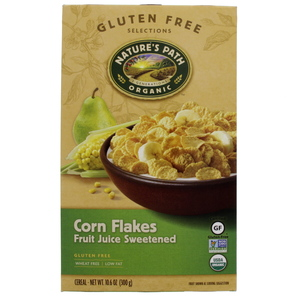 Nature's Path Organic Corn Flakes Fruit Juice Sweetened 300g