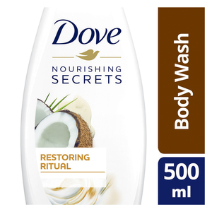 Dove Restoring Ritual Body Wash Coconut 500ml
