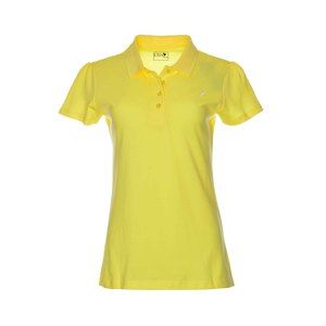 Eten Ladies Basic Polo T-Shirt Yellow
