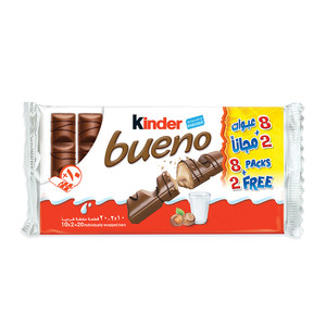 Kinder Bueno Wrapped Bars 10 x 43g