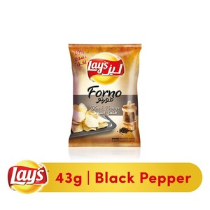 Lays® Forno Black Pepper Potato Chips 43g