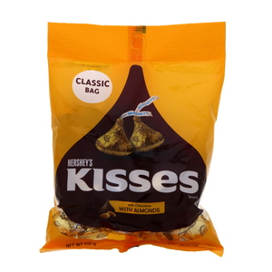 Hershey's Kisses Milk Chocolate With Almonds 150g