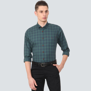 Louis Philippe Men's Casual Shirt LS LYSFCSLFE00848